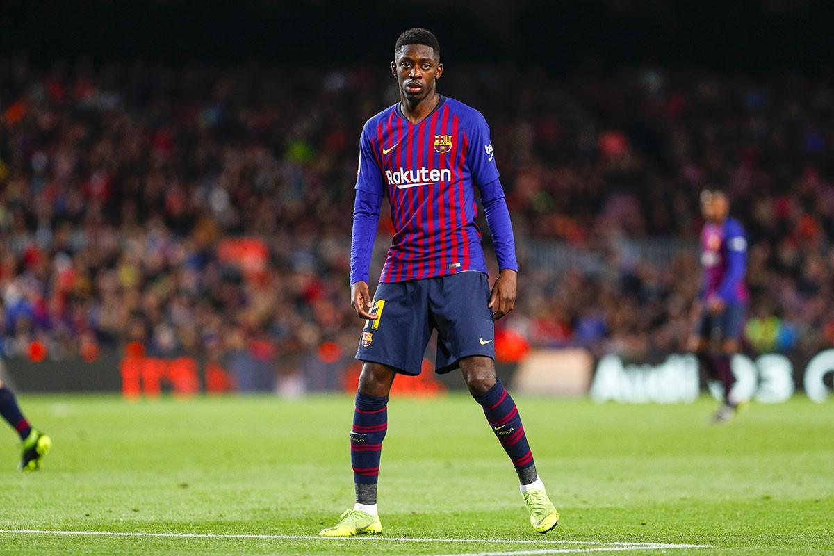 برشلونة الإسباني يسعى لتمديد عقد ديمبيلي
